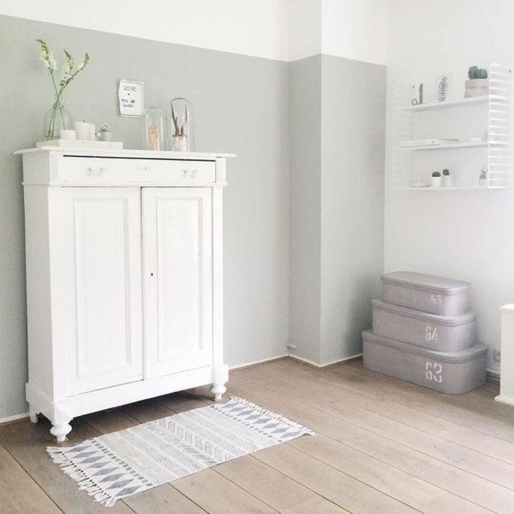 Meer dan 1000 idee n over lambrisering schilderen op pinterest verf hout lambrisering - Verf babykamer ...
