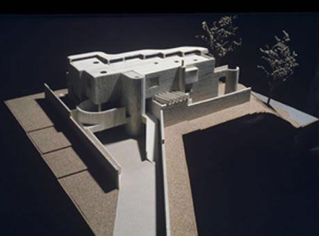House Stekhoven, Cape Town, 1972, A+A de Souza Santos Architects. Model.