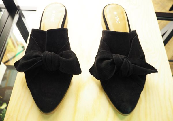 Next powerful SS17 - Absolutely smashing it! http://gabriellalundgren.com/next-powerful-ss17-absolutely-smashing-it Gorgeous suede slippers with a bow from Next SS17