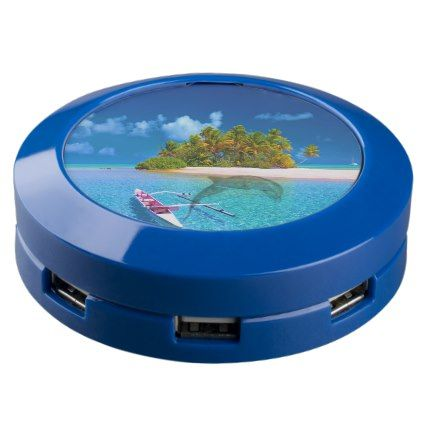 Tropical Beach Turquoise Water USB Charging Station  $67.00  by DivineFlowCreations  - custom gift idea