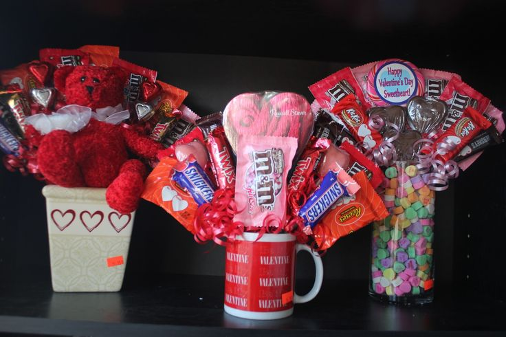 diy candy bouquet | Kims Kandy Kreations: Valentine's Day Candy Bouquet DIY