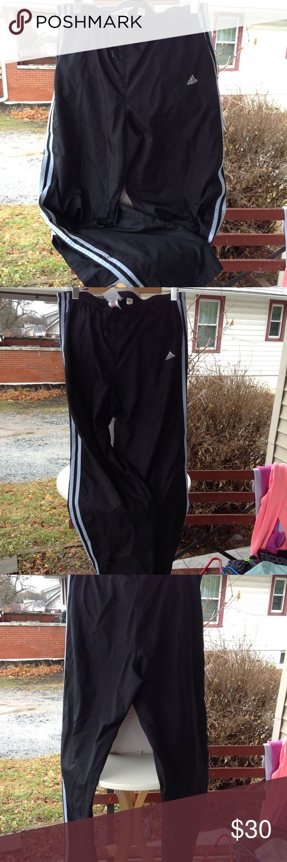Mens Adidas Pants. Size large, black, has pockets, in great condition. adidas Pants Sweatpants & Joggers