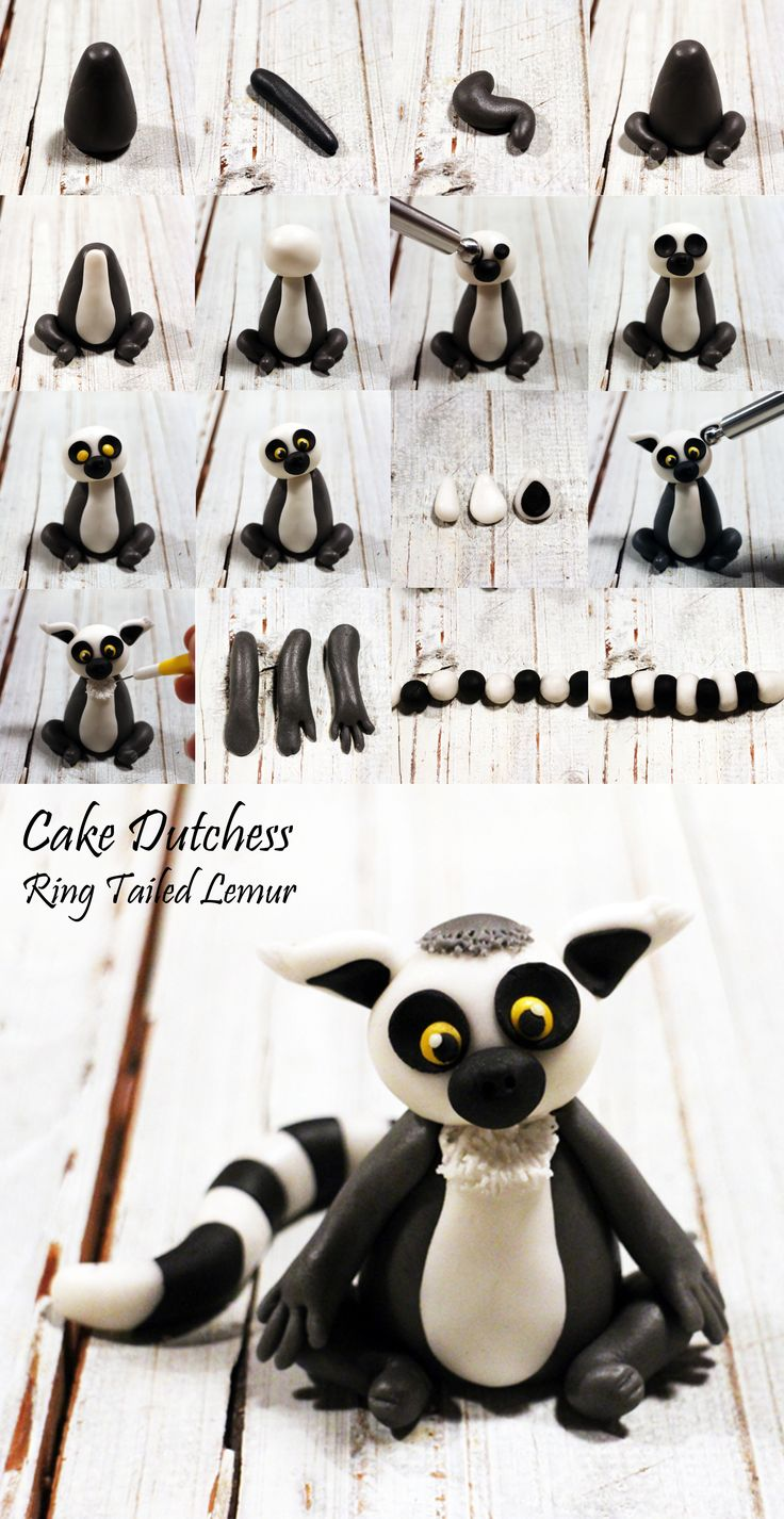 Ring Tailed Lemur by Cake Dutchess https://www.facebook.com/WeddingCakesUK