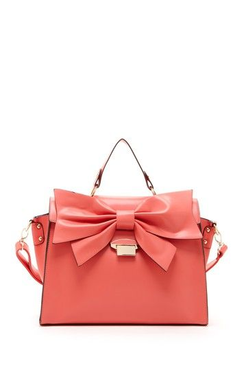 bow satchel nila anthony accessories pinterest big bows bags and online sales. Black Bedroom Furniture Sets. Home Design Ideas