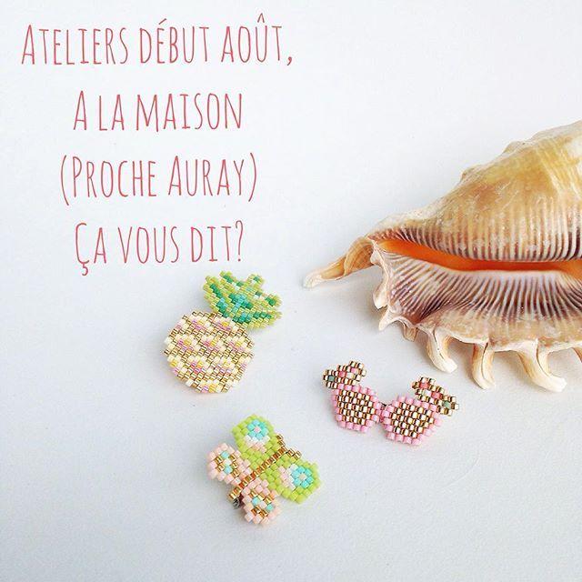 WEBSTA @ rose_moustache - Voilà comme l'année dernière, je propose des ateliers de tissage perles (broches ou bracelets) à la maison en ce début août. Les dates sont assez flexibles et une première session peut se faire le jeudi 4 août et les jours qui pourraient vous convenir la semaine du lundi 8 août au vendredi 12 . Les ateliers se feront chez moi à Sainte Anne d'Auray avec goûter gourmand ☕️ sur une plage horaire de 2/3 heures à partir de 14h (35€ la participation) le matériel est f...