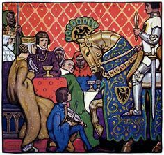 """knight and squire canterbury tales With its image in chaucer""""s canterbury tales thus the first part  another  traveller was the squire, a son of the knight and a candidate for."""