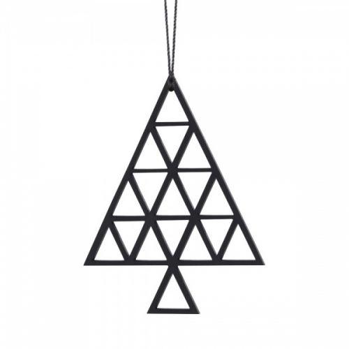 Flotte og enkle juletrær. Passer godt til å henge på juletræet, en gren eller en lysestake.Mål: H 6,1 x B 8 cm.