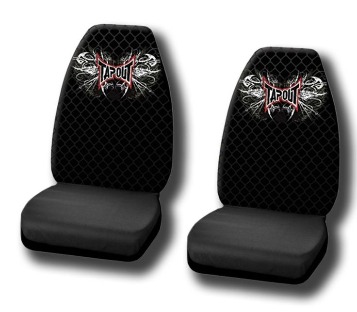2 PC Tapout Seat Covers High Back