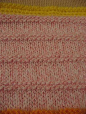 Lemonade Crochet Afghan Pattern : Garter stitch, Stitch patterns and Garter on Pinterest