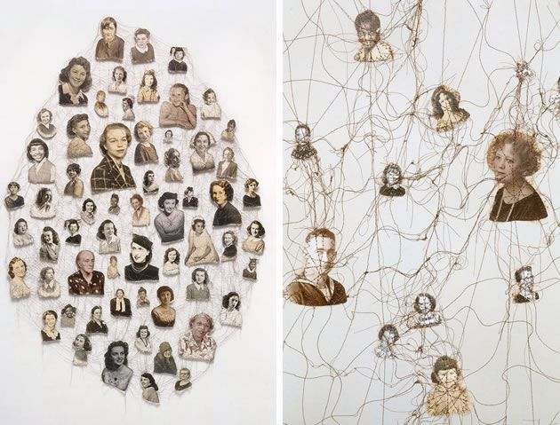 Stitch photographs together - example by Lisa Kokin