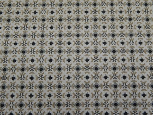 Látka, geometrické tvary, bílý podklad