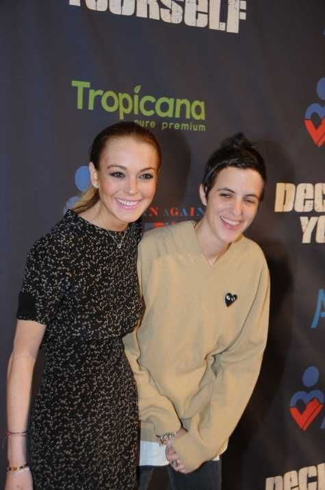 Lindsay Lohan and Samantha Ronson at the Washington D.C Declare Yourself eventEvents Celebrities, Queens Lohan, Pin Wall, Samantha Ronson, Pain Free, Labor Pain, Lindsay Lohan, D C Declaration, Popular Pin