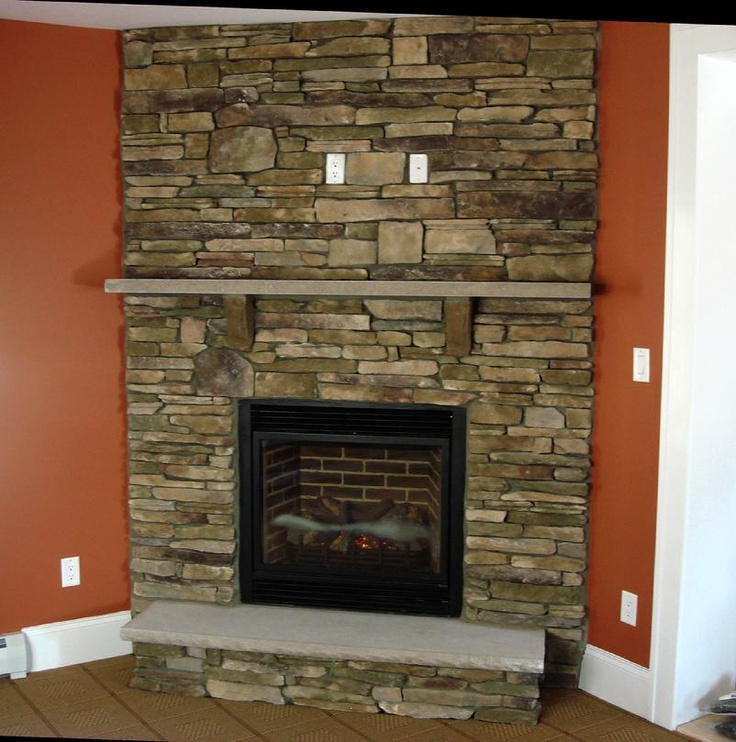 22 best modern fireplaces images on pinterest modern for Lodge style fireplace ideas