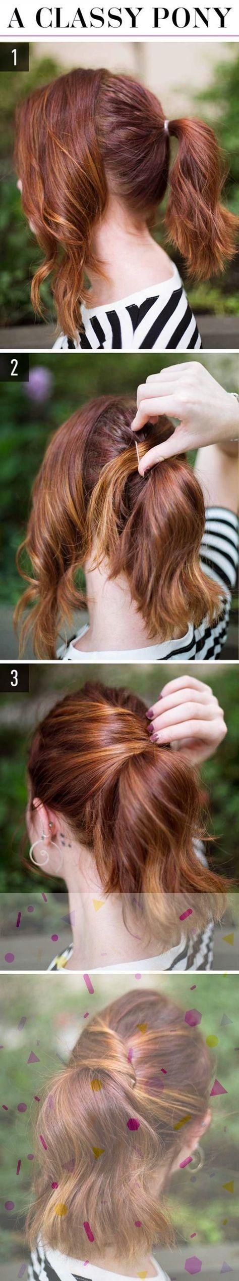 17+ Top-Notch Women Hairstyles Ponytail Ideas, #Hairstyles #Ideas #Ponytail #TopNotch #Women