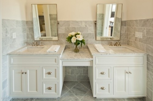 classic - sharp!Ideas, Custom Homes, Masterbath, Bathroom Vanities, Sinks, Bathroom Designs, Bathroomdesign, Traditional Bathroom, Master Bathroom