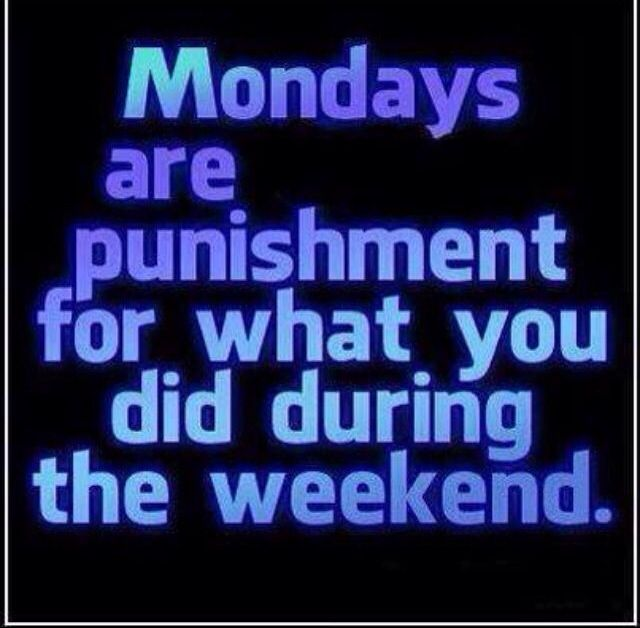 Monday Morning Humor Quotes: 439 Best Monday..Yuck Images On Pinterest