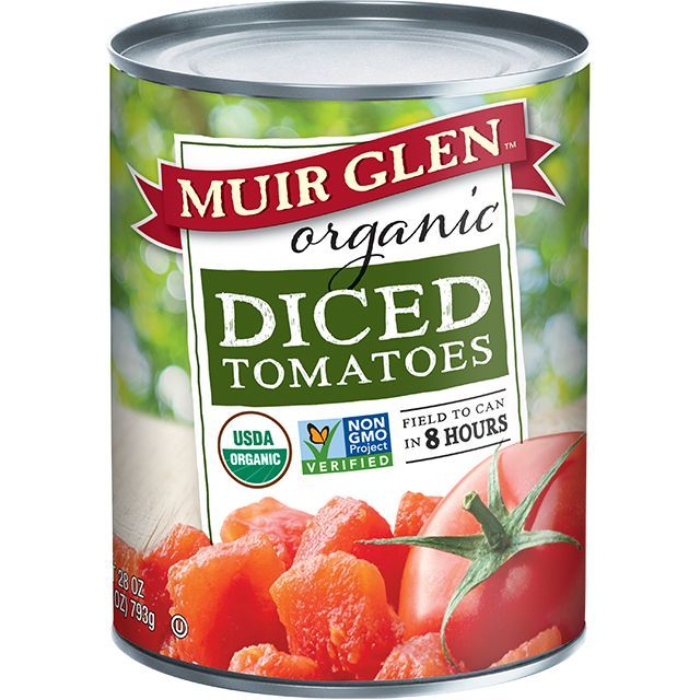 Diced Tomatoes Can Canned Tomatoes Muir Glen Muir Glen Organic Muir Glen How To Peel Tomatoes