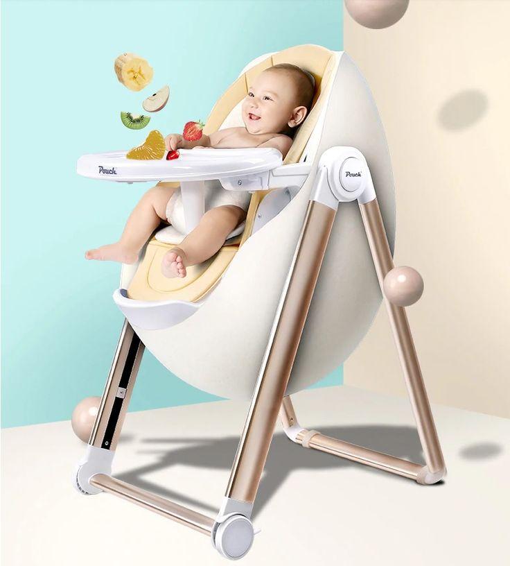 Pouch Brand Adjustable Egg Shape Design Baby Highchair Baby Chair Baby High Chair Baby Chair Design