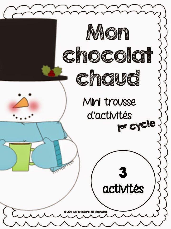 Les créations de Stéphanie : Trousse d'activités : Mon chocolat chaud (1er cycle)