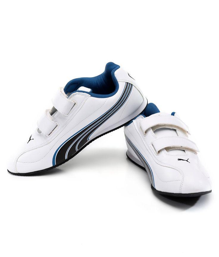Puma Wirko White Black Casual Shoes