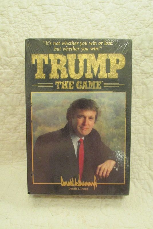 Vintage Trump The Game 1989 Donald Trump Game new by rarefinds4u