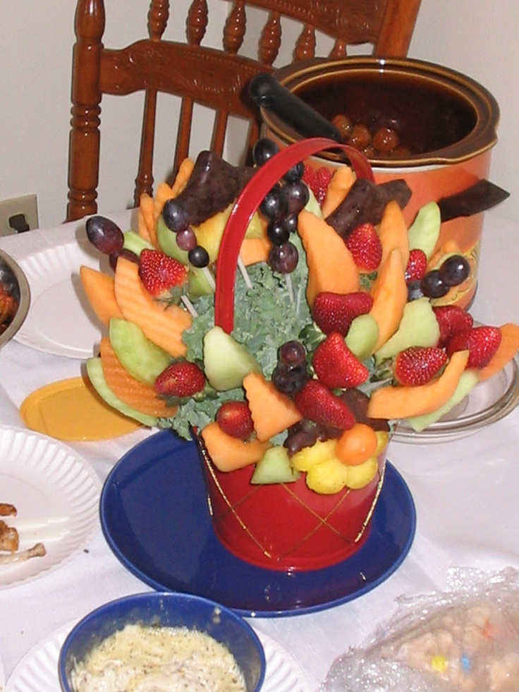 how to cut fruit for edible arrangements