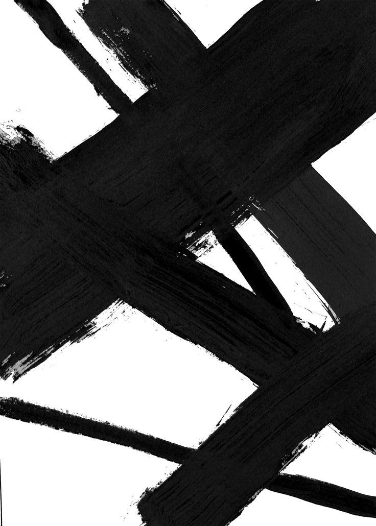 Abstract Painting, Black Brush Stroke Art, Printable Dorm Art, Zen Brush Art, Zen Art, Abstract Brush Strokes, Black Brush Stroke, Painted #blackbrushstrokes #blackart #minimal wallart  painting #minimalpainting  Schwarze Abstrakte Pinselstriche Skandinavisch Abstrakt Poster Download/druckbare Kunst Gallerie Bild Wohnen Einrichtung Rahmen
