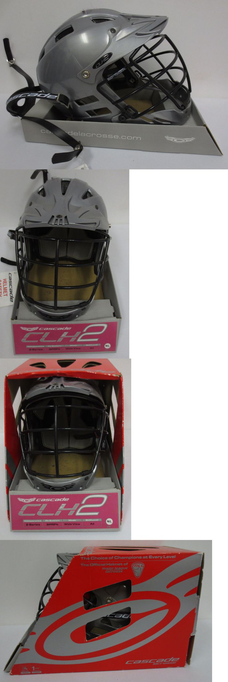 Protective Gear 62164: Cascade Lacrosse Ncaa Helmet Clh2 Sprfit Wideview 2 Series Chin Strap Protective BUY IT NOW ONLY: $59.95