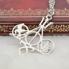 The Harry Potter and the Deathly Hallows The Mortal Instruments: City of Bones The Hunger Games Percy Jackson Divergent Necklace(China (Mainland))