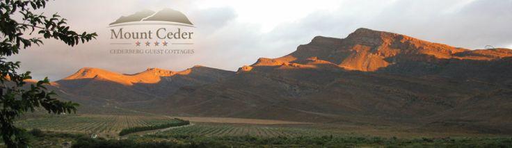 Cederberg accommodation, Mount Ceder