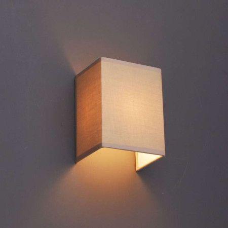Aplique de pared VETE beige - Apliques de pared - Iluminación interior - lamparayluz.es