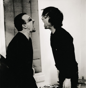 Bono & Billie Joe Armstrong by Anton Corbijn #AntonCorbijn #photography