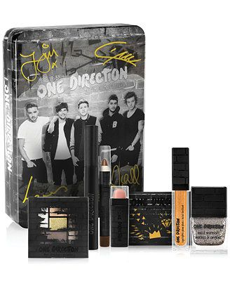 One Direction Take Me Home Beauty Collection . They made song what makes you beautiful I say that we don't need make up .. And now we can't be living without make up because they are on it..
