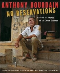 Read the book.  Then see the show - every episode, if you can.  From hunting with Ted Nugent, to eating every part of a warthog with Kalahari bushmen, to why Vietnam is the foodies' place to retire and die peacefully, Bourdain speaks so eloquently about what goes in his mouth that you can practically taste every bite.  Among the very best out there.