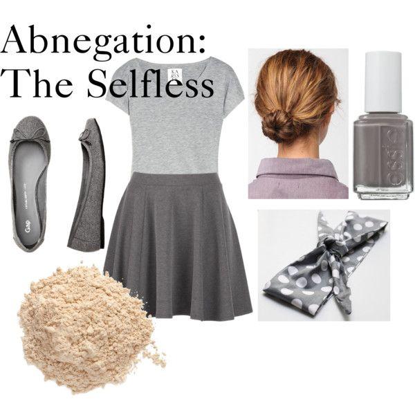 """Divergent Fashions: Abnegation"" by emilyj-eggenberger on Polyvore"