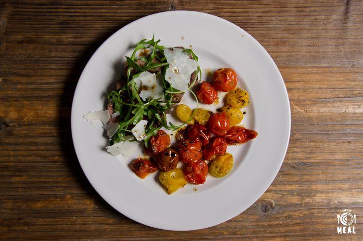 &SOME - Tagliata de bœuf et tomates cerises rôties