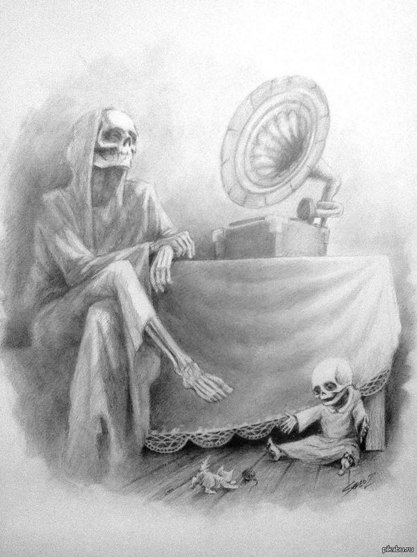 Дню матери, картинки будни маленькой смерти