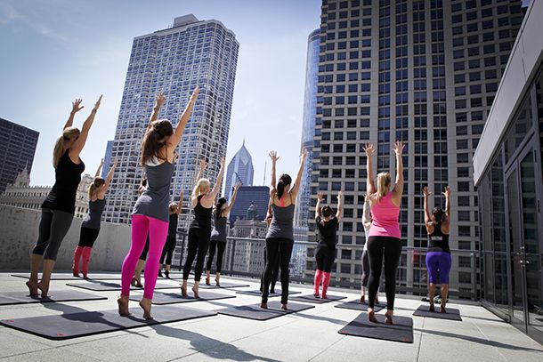 Belly Up to the Barre | Photograph courtesy of Kimpton Hotels | Fitness | Organic Spa Magazine