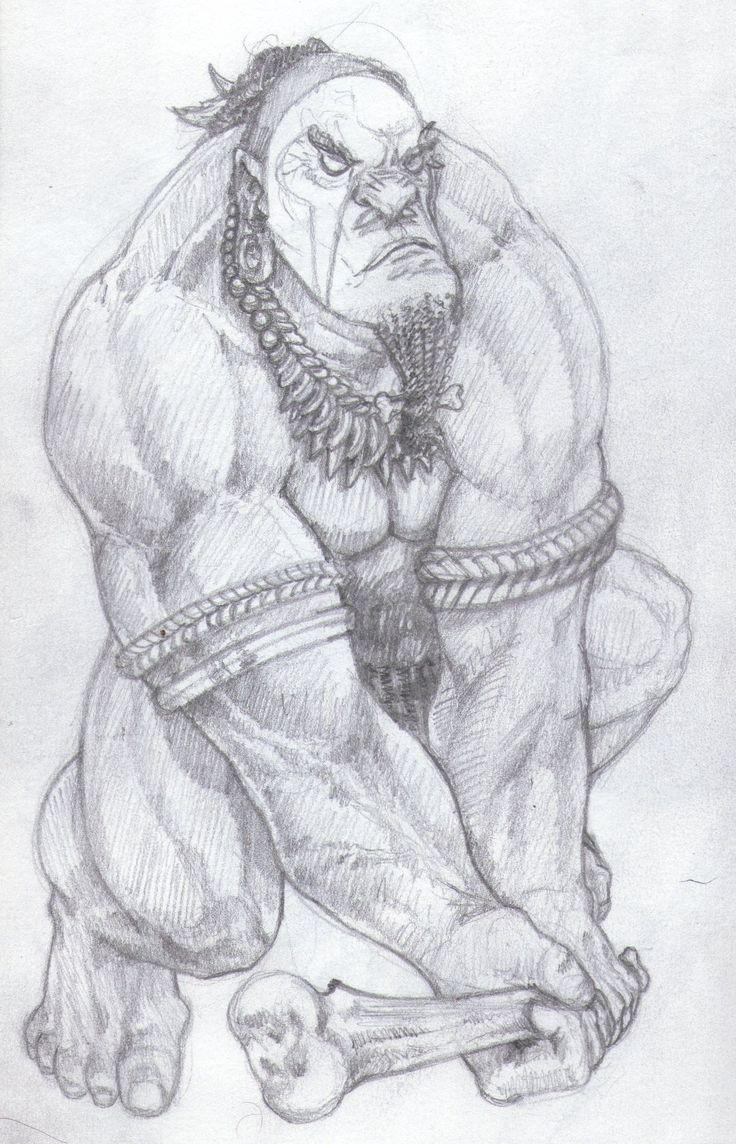 primitive ugly guy