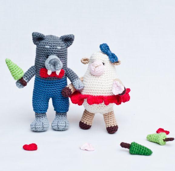 Mejores 119 imágenes de Knitted Toys en Pinterest | Tejer gratis ...