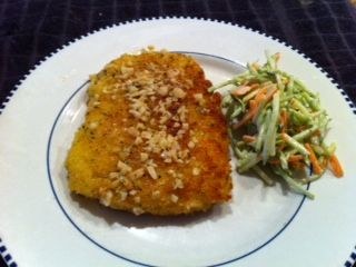 Calamari Steak recipe from Alioto's. Cooks in 4 minutes. Yummy with San Francisco sour dough bread crumbs.