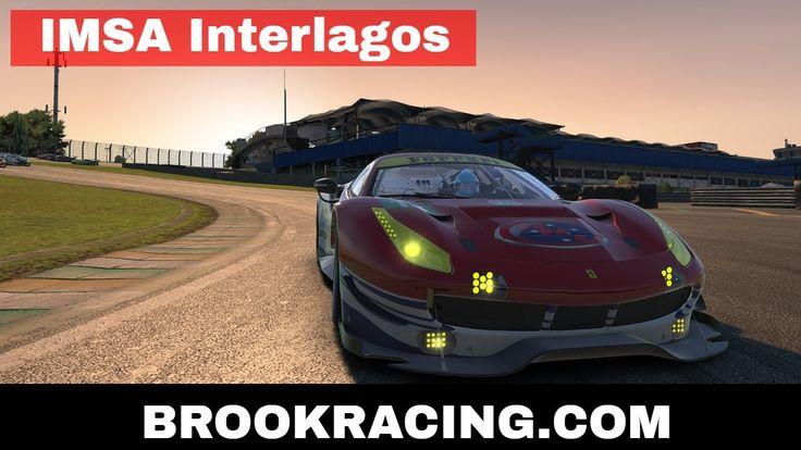iRacing IMSA - Interlagos Ferrari 488 GTE 2017