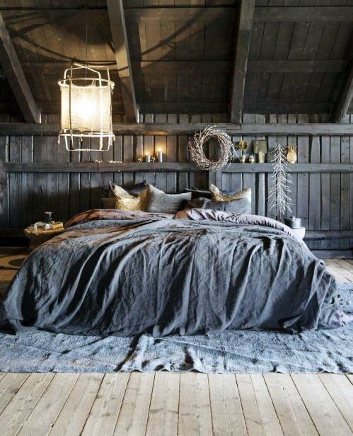 Мужские спальни Сельский Дизайн Barn