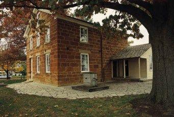 Carthage Jail, where Joseph Smith was killed.