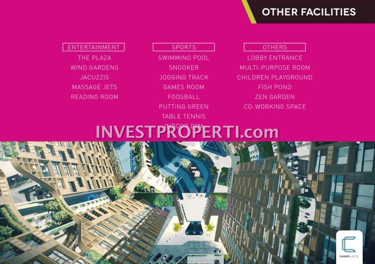 Fasilitas lain Cambio Lofts Alam Sutera apartment #cambiolofts