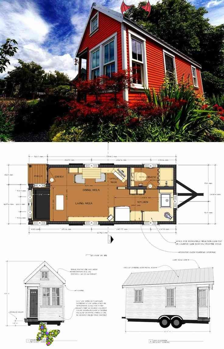 Free Mini House Plans Awesome 27 Adorable Free Tiny House Floor Plans Craft Mart Br In 2020 Tiny House Floor Plans Mini House Plans Tiny House Design