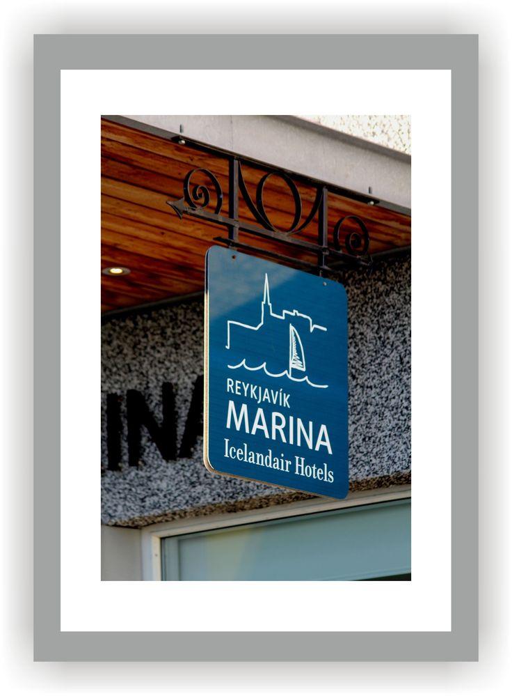 ISLAND - REYKJAVIK Hafen Icelandair Hotel Marina