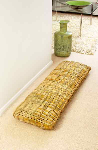 Rush openweave floor/bench cushion £295.00