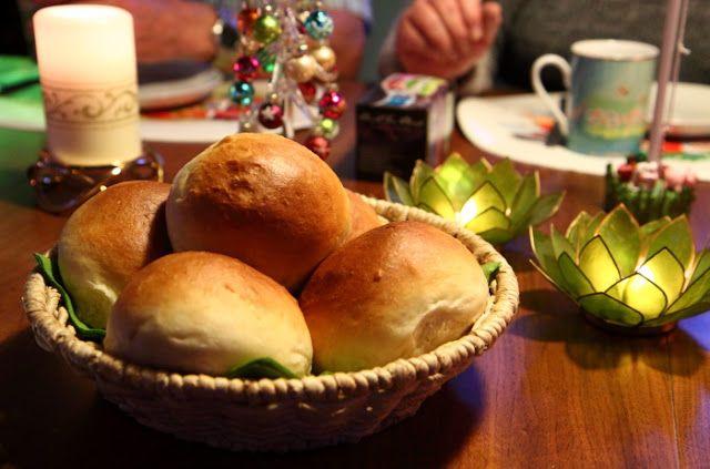 Store, luftige boller med italiensk hvedemel