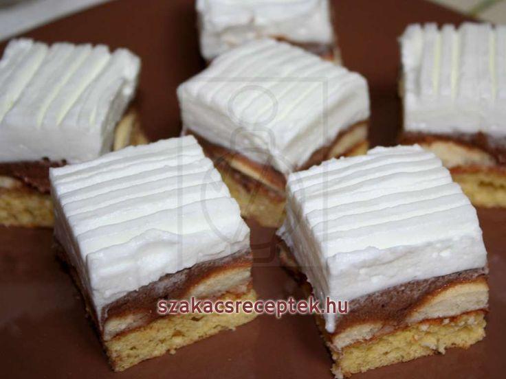 Havas piskóta sütemény